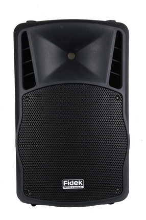 FIDEK FPX 152BT/122BT мобильный динамик открытый профессиональный аудио динамик тележка на колесиках стерео Bluetooth 2 полосная АС