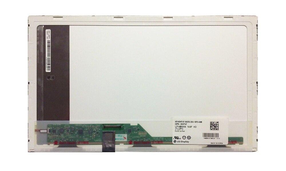 14 0 Laptop Matrix for LG PHILIPS LP140WH4 TL P1 LAPTOP LED LCD Screen LP140WH4 TLP1