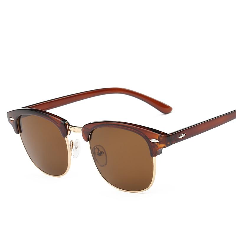 CLASSIC Half Metal Sunglasses տղամարդիկ Կանացի - Հագուստի պարագաներ - Լուսանկար 3