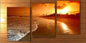 5d diy living hot sale beach painting printed painting on canvas murals for the living room framed art w however scenic