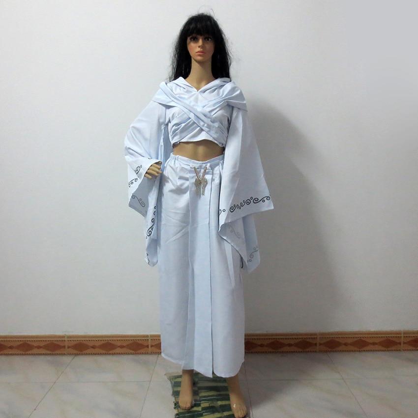 Star Wars Episode II Padme Amidala Padme Naberrie Cosplay Costume Customize Any Size