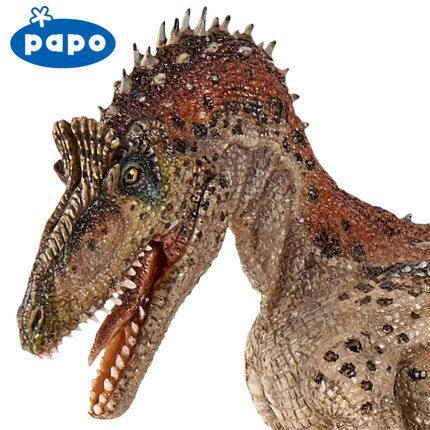 2017 new Papo Cryolophosaurus Simulated Dinosaur Model Museum Collection Jurassic World Ancient Creatures Children's Toys