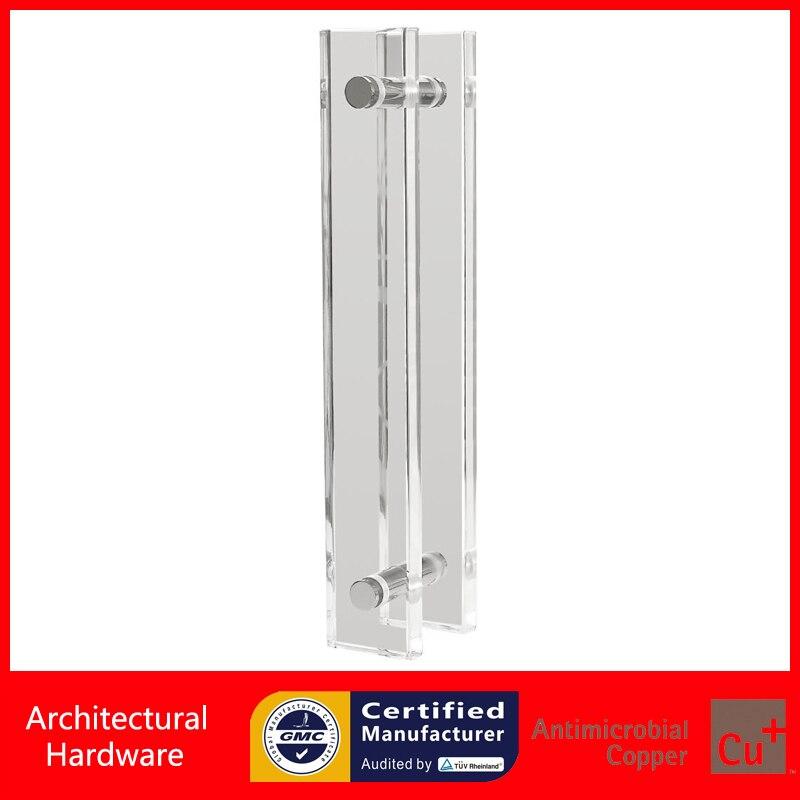 ⊹Acrílico manija de la puerta de entrada hecha de plexiglás para la ...