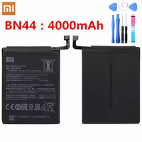 100 Original Xiaomi Battery Bn44 4000mAh High Capacity Polymer Replacement Strong Endurance Battery BN44 Xiaomi Redmi