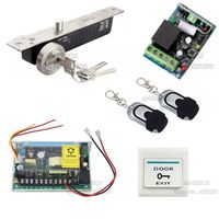 ACSS22 Remote Control Door Access Control System Kit +Electric Bolt Lock +Power Supply