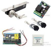 Acss22 Дистанционное управление двери Система контроля доступа Kit + аудио домофоны + Питание
