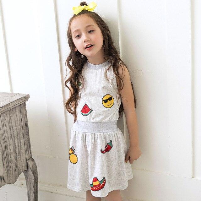 Bebé patrones vestido de niña sandía piña niños vestidos para niñas ...