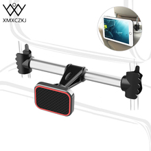 XMXCZKJ Magnet Back Seat Car Mobile Cell Phone Holder Stand Support For iPhone Smartphone Magnetic Head Headrest Accessories