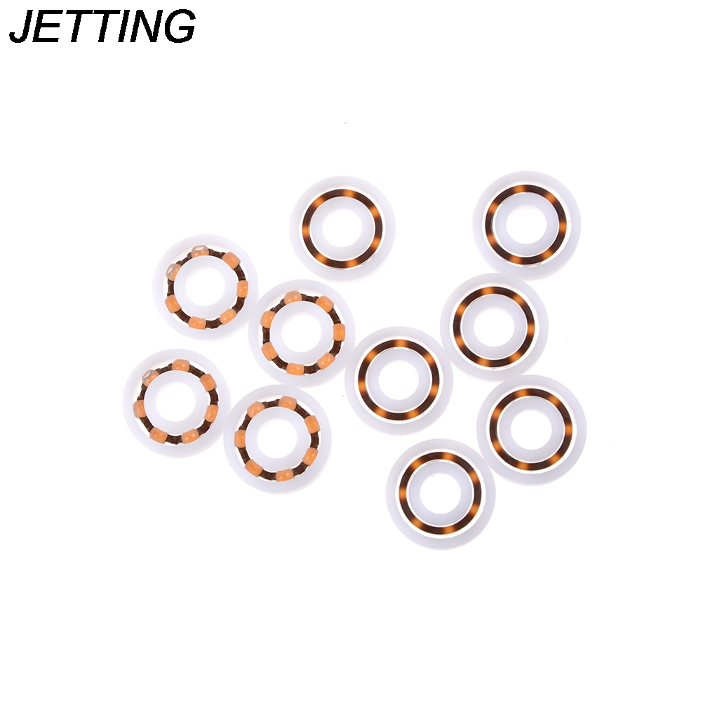 Wholesale 10pcs/lot Plastic 608 Bearing Ball Bearing 8mm*22mm*7mm Miniature Ball Bearings promotion price image