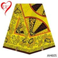 LIULANZHI nigerii tkaniny sukienka afryki wosk drukuje tkaniny ankara 6 metrów wysokiej qualiy AH602-11 ollandais wosk do odzieży