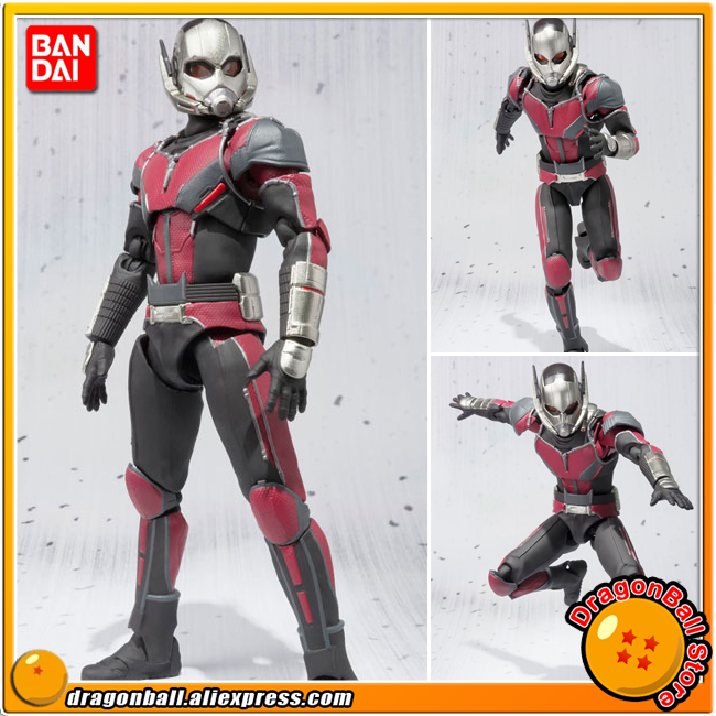 Anime Captain America: Civil War Original BANDAI Tamashii Nations SHF/ S.H.Figuarts Action Figure - Ant-Man gare thompson civil war battleship the monitor level 4