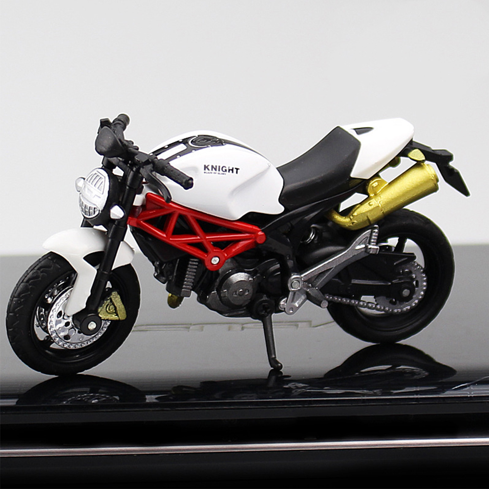 <font><b>1:18</b></font> <font><b>Car</b></font> <font><b>Diecast</b></font> Motorcycle Office Decor Off-road Vehicle Children <font><b>Model</b></font> Toy Portable Lightweight Home Plastic Collection Gift image