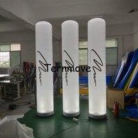 inflatable tube man led pillar light use wedding,party decoration Air Pillar Column advertising led cone,led cone inflatable