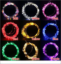 10m 100leds Copper Wire LED Starry Lights 12 V DC LED String Light outdoor waterproof holiday Christmas tree holiday garden lamp(China)
