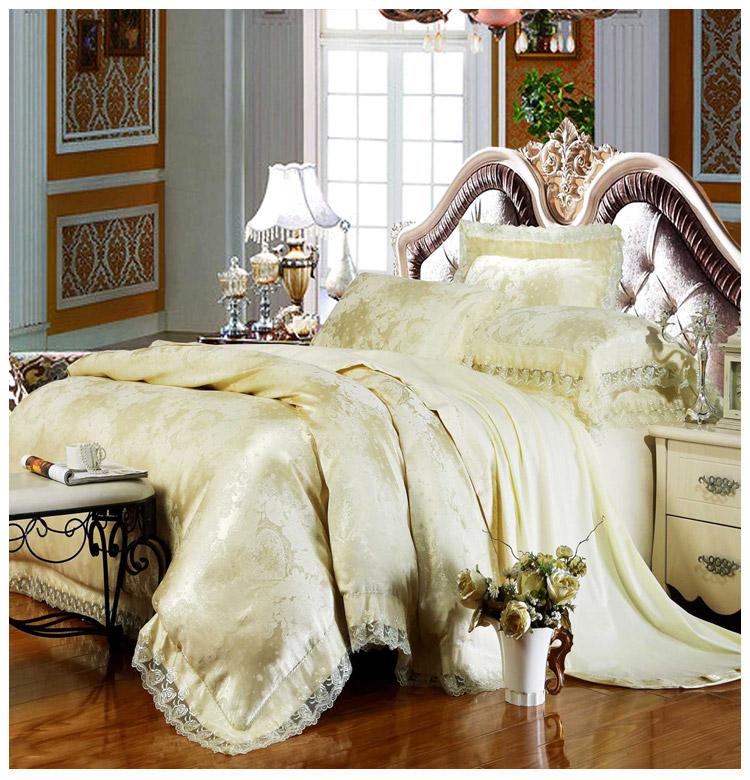 Luksuslikult läikivad voodipesukomplektid