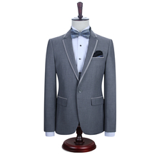 2016 New DAROuomo Fashion Men Suit Brand Men's Blazer Business Slim Clothing Suit Jacket and Pants for Wedding