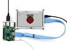 5pcs/lot Raspberry Pi 5 inch HDMI LCD Display Module Touch Screen Support Raspberry Pi 3 B/2 B A/A+/B/B+/ Beaglebone Black
