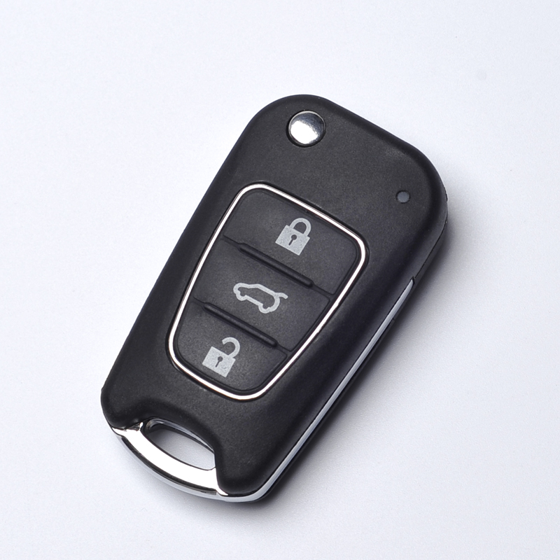 Remote Flip Fold Key Case Cover For Hyundai i30 i35 Avante Solaris 3B Key Shell Replacement