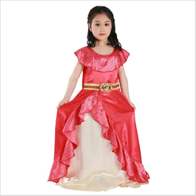 Sale Girls New Favourite Latina Princess Elena From TV Elena Of Avalor Adventure Next Child Halloween Costumes S M L