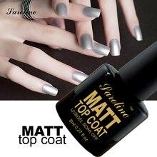 Saroline Matte Top Gel Matt Lacquer Top Coat Transparent Color Matt Top Coat UV Gel Nailes Polish LED  Soak Off Varnish