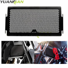 FOR FZ-07 LOGO Motorcycle Radiator Cover Bezel Grille Guard Protector Aluminum for Yamaha MT07 MT-07 FZ07 FZ-07 2014 2015