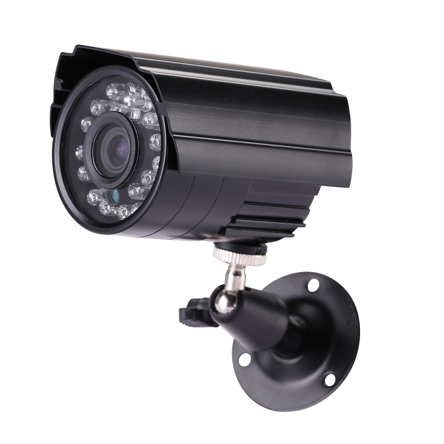 1.0/1.3MP 2000/2500TVL High Resolution 24pcs LED Waterproof Camera With IR-CUT Filter AH ...