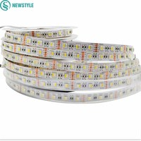 4 Colors In 1 Led Chip RGBW RGBWW 5050 SMD Led Strip DC12V Waterproof 60led M