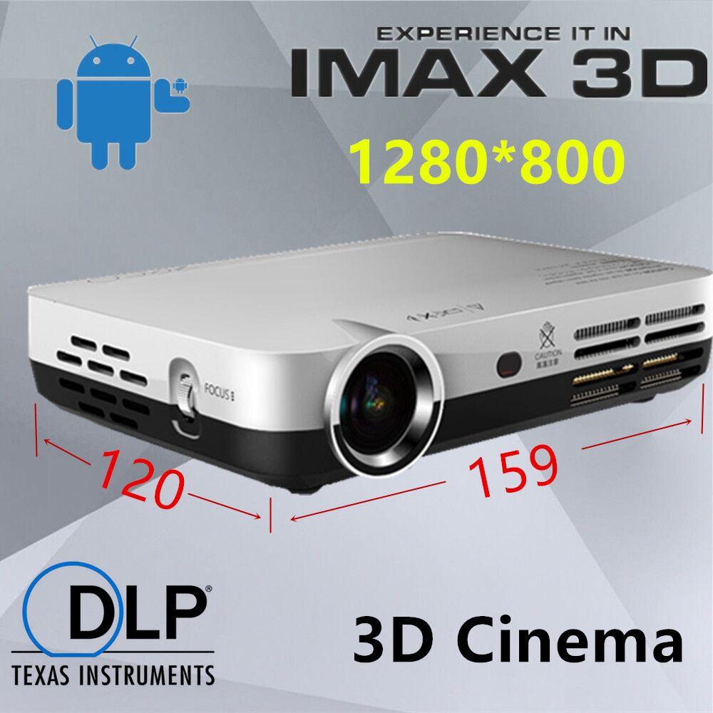 2000 Lumens Full Hd 1080p Led Lcd 3d Vga Hdmi Tv Home: 1080P Full HD Projector 3D Mini LED Projectors Home Video