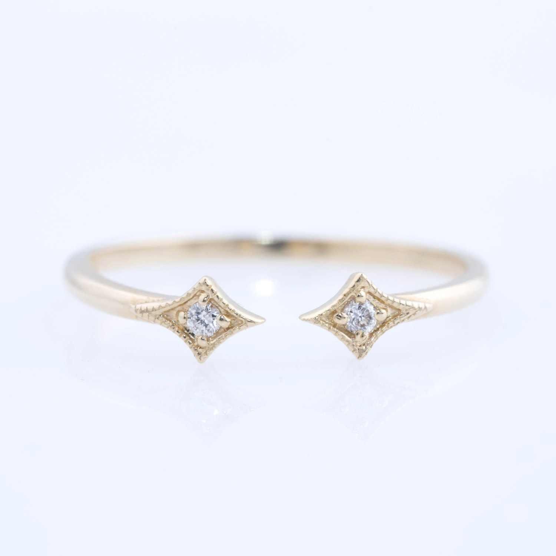 Кольцо из стерлингового серебра 925, кристаллическая звезда, женское свадебное кольцо Незамкнутое регулируемое кольцо, ювелирные изделия из стерлингового серебра, подарок на день Святого Валентина