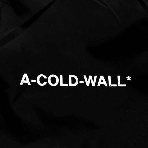 f96ce779 ... 2018FW ACW A-COLD-WALL Logo Printed Women Men Jackets Coat Windbreaker  Waterproof Hiphop ...