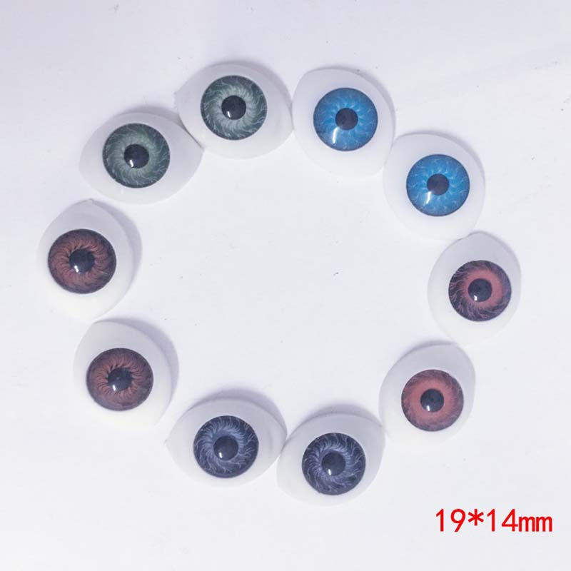 5Pairs Doll Accessories Eyes BJD Doll Eyes Plastic Eyes For Dolls
