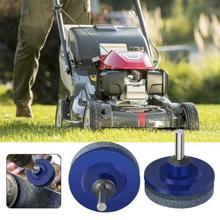Mower Blade Drill Lawnmower Lawn Sharpener For Power Hand