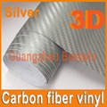 Free Shipping Car Styling 1.52mx30m High Quality Car Vinyl Wrap 3D Carbon Fiber Vinyl With Air Bubble Free/Air Release