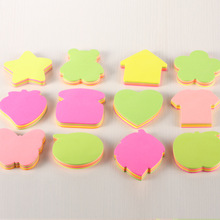 100pcs/Lot Multicolor Variety Shape Sticky Notes Post It Bookmark Sticker Cute Kawaii Memo Pads
