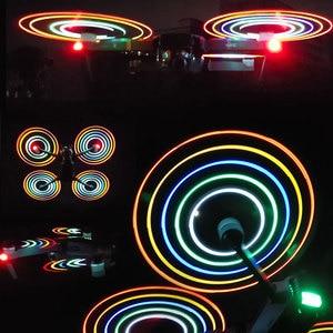 Image 4 - STARTRC Per DJI Mavic pro Platinum LED Flash 8331 eliche Eliche Per DJI Mavic Platino A Basso Rumore a Sgancio Rapido drone