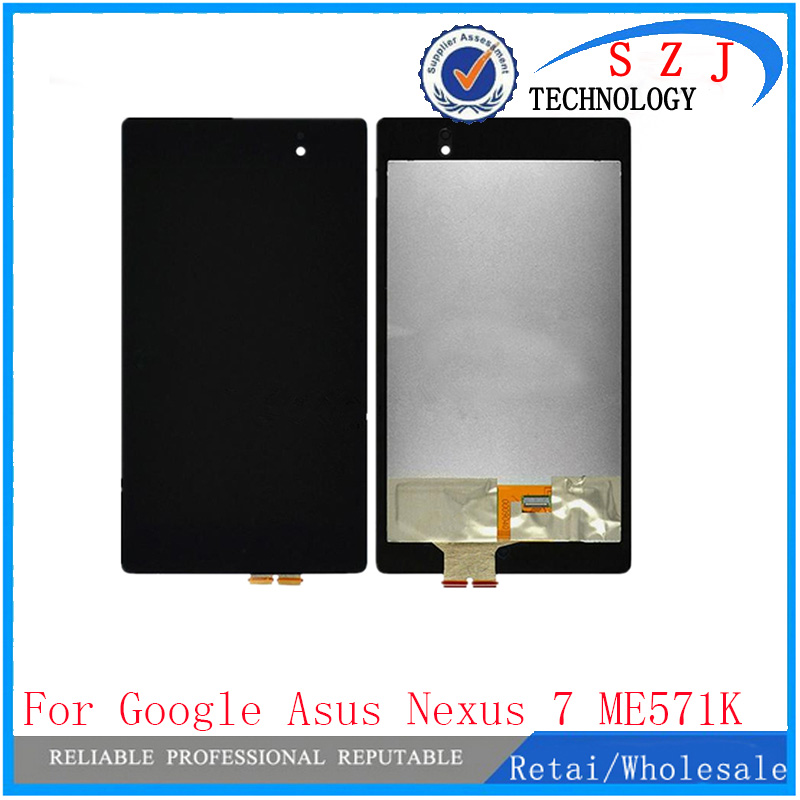 New 7'' inch For Asus Google Nexus 7 FHD 2nd 2013 ME571K ME571KL digitizer touch screen Glass with lcd display assembly brand new for asus google nexus 7 fhd 2nd gen 2013 lcd display screen with touch screen digitizer assembly free shipping