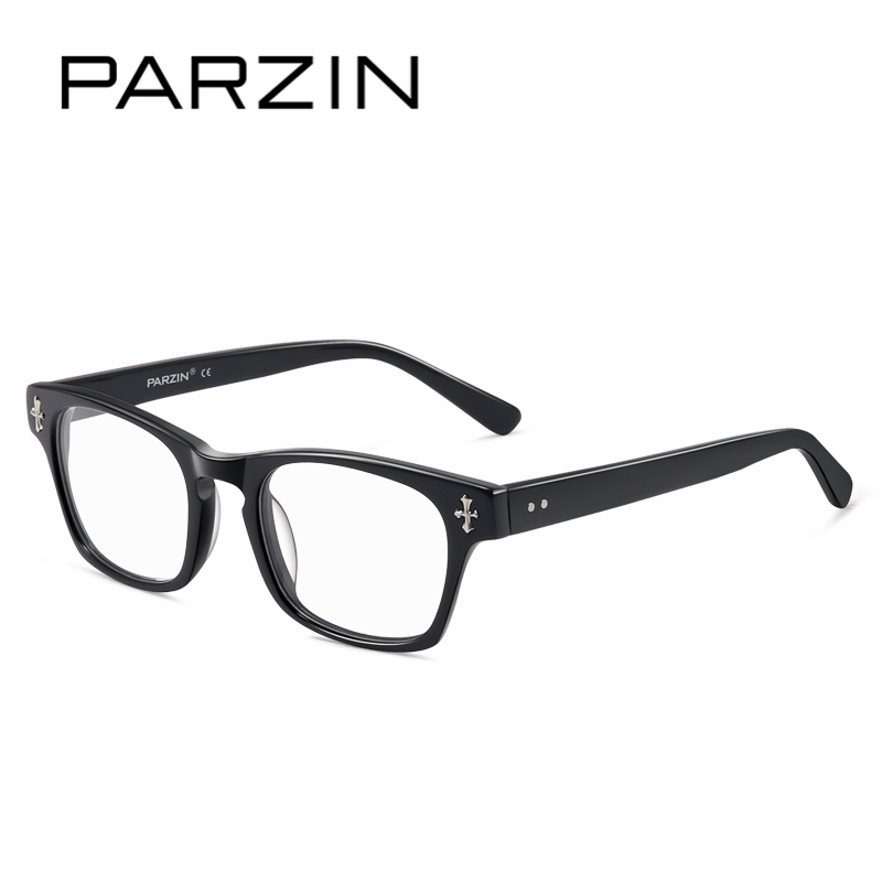 f83222a06a PARZIN Fashion Design Myopia Glasses Frames With Clear Lens High Quality  Optics RX Eyeglasses Online Store Eyewear Accessories-in Eyewear Frames  from ...