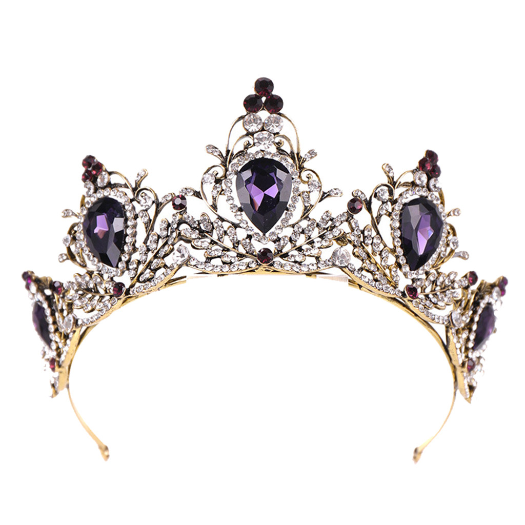 Black /& Gold Diamante Floral Embellished Headband Rhinestone Jewel Baroque
