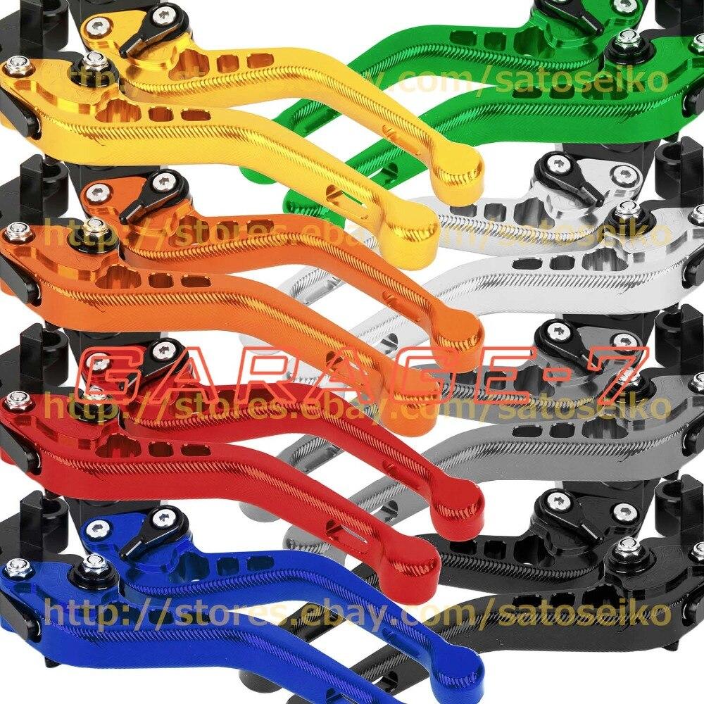 For Ducati 996/998/B/S/R 1999-2003 Folding&Extending/3D CNC Adjuster Short Clutch Brake Lever Set 2 PCS 1999 2000 2001 2002