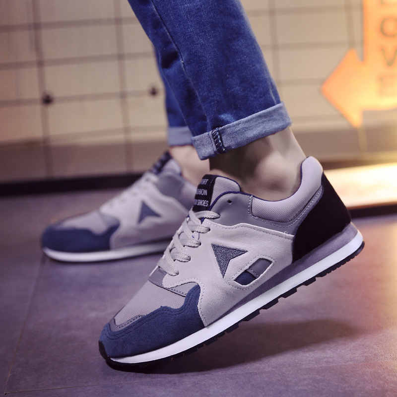 ФОТО Men Casual Shoes Comfortable Breathable Shoes New Spring Autumn Brand Men Fashion Mens Cotton Fabric Shoes SMYCFJ-F0028