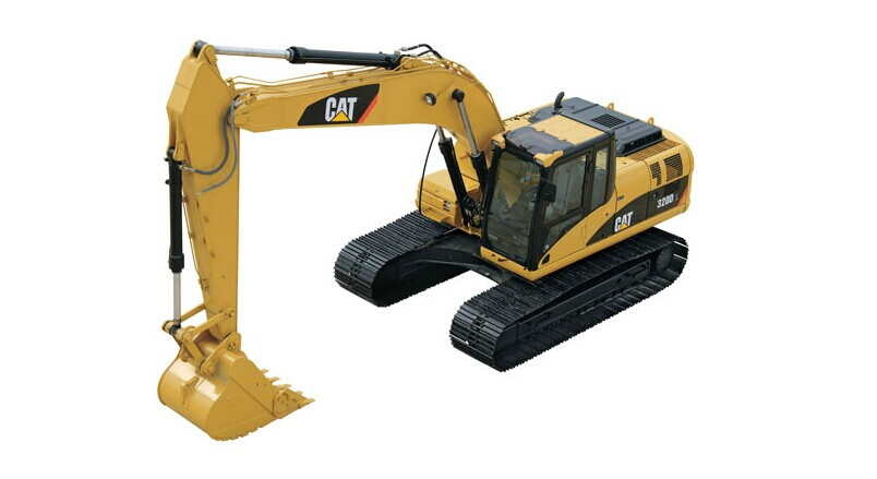 Rare DieCast Model Norscot 1:50 Caterpillar Cat 320D L Hydraulic Excavator Engineering Machinery 55214 For Collection,Decoration