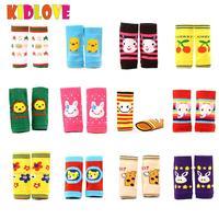 KIDLOVE 12pairs Sets Baby Kids Toddlers Kneepad Crawling Anti Slip Warm Knee Elbow Ankle Protect Socks