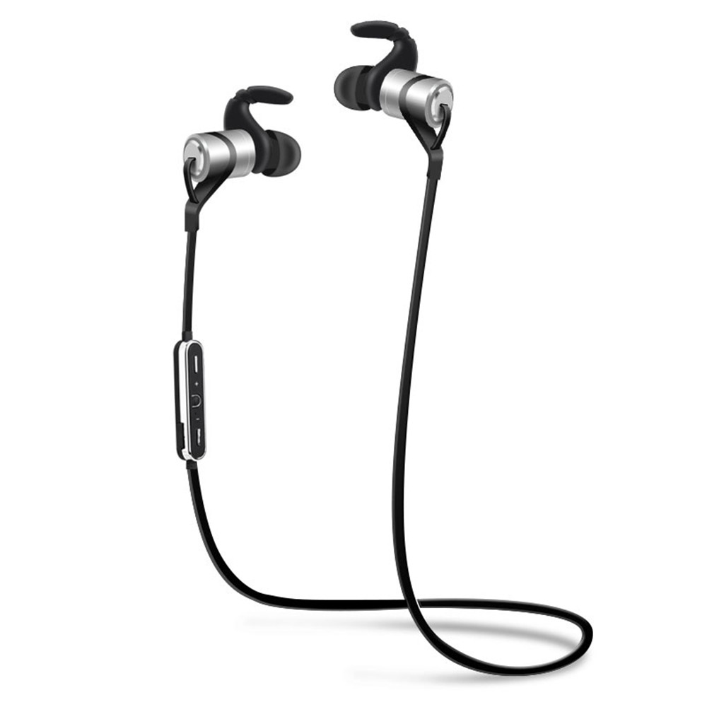Bluetooth Headphones Wireless Sports Earphones in Ear Earbuds with IPX5 Splashproof aptX Stereo Magnetic Aluminum Design Mic