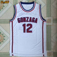 10bbfd2abc06 Uncle GG 2018 Cheap Throwback Basketball Jersey John Stockton Jersey  12  GONZAGA BULLDOGS College Vintage
