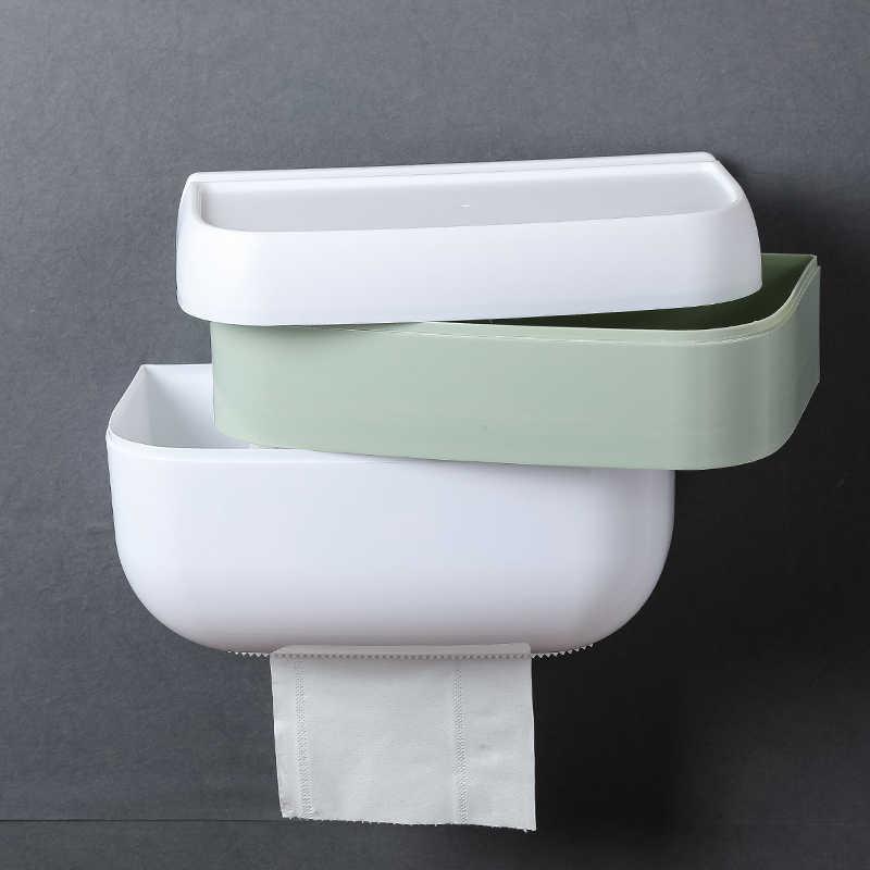 Moda Wall wiszące papierowe pudełka serwetka przypadkach pudełko do przechowywania organizer na biurko łazienka podwójne tissue case 22*12.5*19 cm