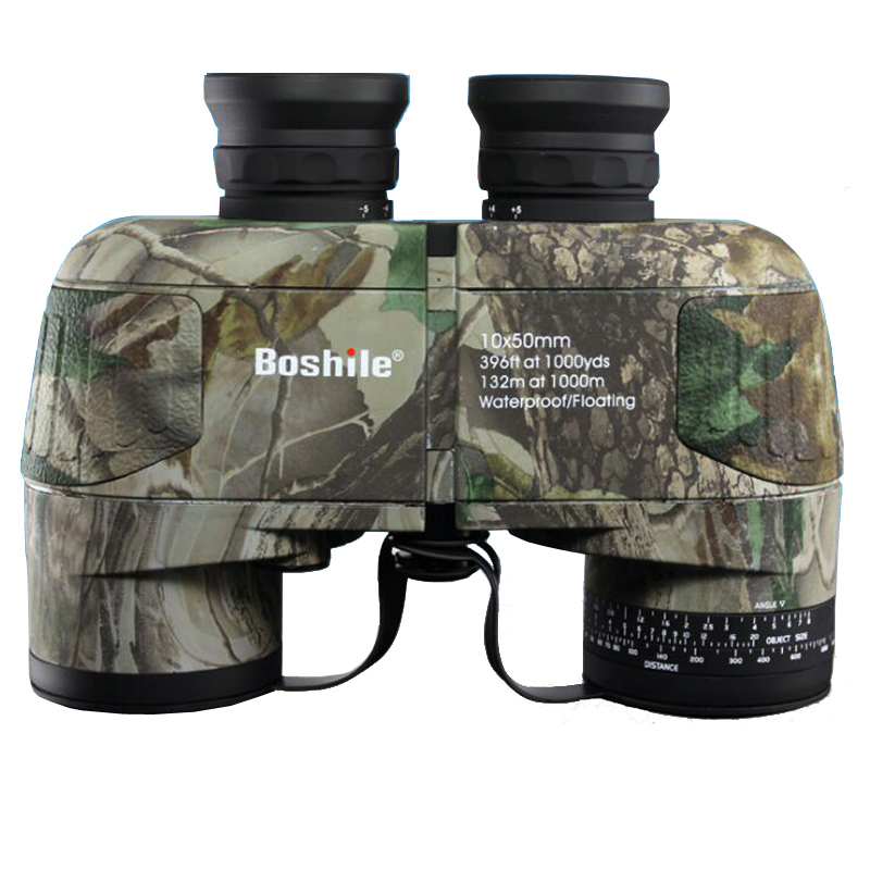 Professional Bak4 Prism Nitrogen 10X50 Nautical Waterproof Floating Binoculars Navigation Top Telescope With Rangefinder Reticle new outdoor binoculars 7x40 military grade waterproof telescope hd green film bak4 prism wide angle with range reticle