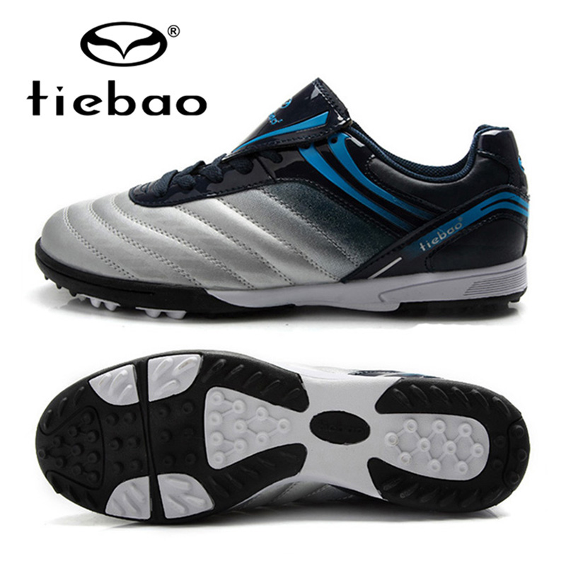 TIEBAO Brand Professional Men Football Shoes Outdoor Athletic Training Shoes TF Turf Soles Soccer Boots EU 39-44 tiebao brand professional adults soccer shoes men women outdoor football boots cleats tf turf soles athletic trainers sneakers