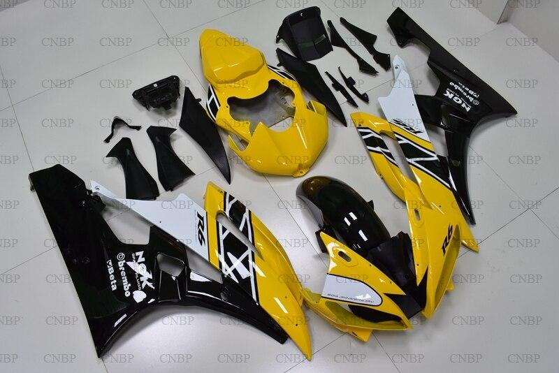YZFR6 2007 Body Kits for YAMAHA YZFR6 2006 - 2007 Yellow Black Body Kits YZFR6 07 FairingYZFR6 2007 Body Kits for YAMAHA YZFR6 2006 - 2007 Yellow Black Body Kits YZFR6 07 Fairing