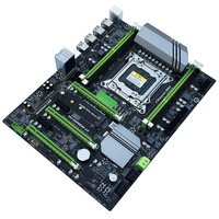HOT X79T Ddr3 Pc Desktops Motherboard Lga 2011 Cpu Computer 4 Channel Gaming Support M.2 E5 2680V2 I7 Sata 3.0 Usb 3.0 For Int