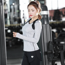 Women Yoga Shirts Gym Fitness Zipper Hollow Plaid Female Sports Jacket Slim Running TightsTops Hoodies Clothing Free Shipping